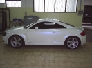 Audi TT bianca