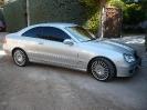 Mercedes Classe CLK Argento